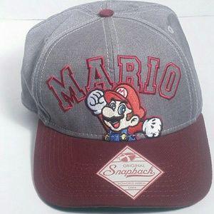 original snapback Other - Official Super Mario baseball hat!